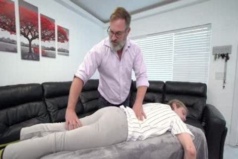 built boy Massaged And slammed By Stepdad