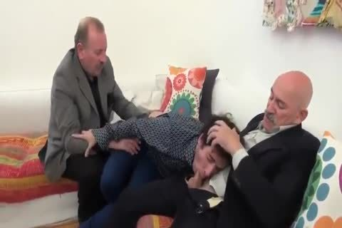 A Son's threesome With His Father And Father In Law