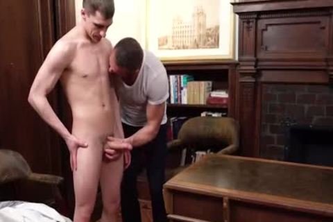 MormonBoyz sleazy Daddy receives Serviced By A young Missiona