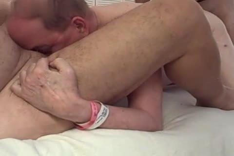 4 older males nail And engulf In A Motel Room