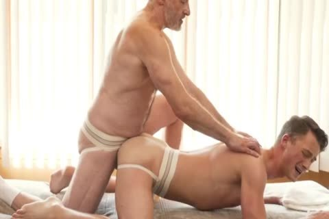 Silver Daddy Massages Young man