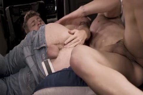 concupiscent twink Got poked By A Muscle chap