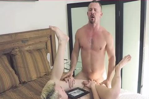 His First pounding Is For His Daddy