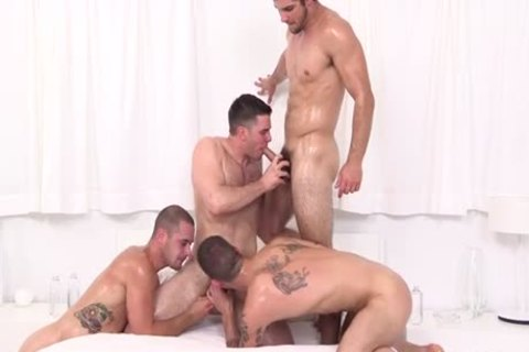 4-Some With extreme plenty of Oil