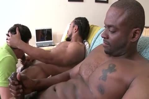 2 BBC darksome men poke White lad