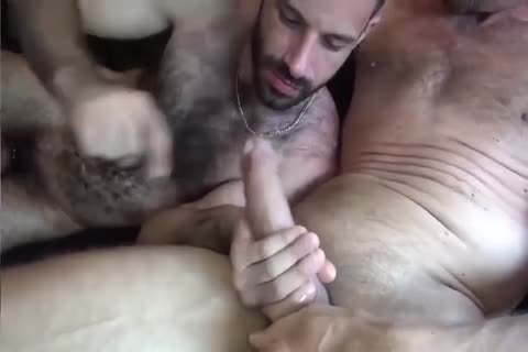 GUNNER DAVID GIFTED DADDY STUFFING hairy butthole