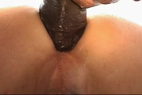 The Buttlover S moist BBC Turns On dark hole Into A bawdy cleft