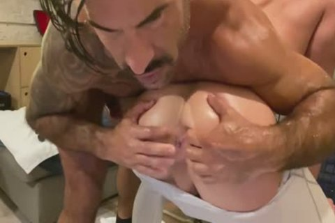 Super nasty Model receive nailed By A Daddy's giant knob