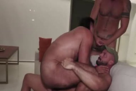 concupiscent threesome pound After naked Beach