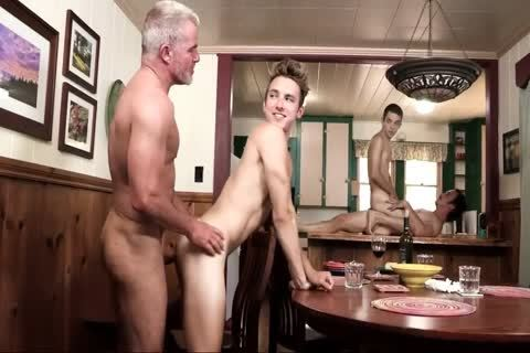 boyz Have fun With Step-daddy And Grampa