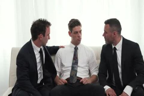 MormonBoyz - Two Hung Religious males nail A Missionary lad
