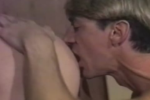 Country men eat ass and plow in vintage clip